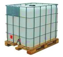 Еврокуб восстановленный 1000 литров на Б/У деревянном поддоне