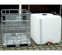 Еврокуб восстановленный 1000  литров, металлический или пластиковый