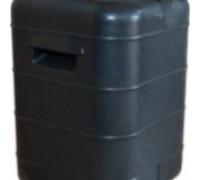 Бочка Техническая 40л черная с крышкой НОВАЯ