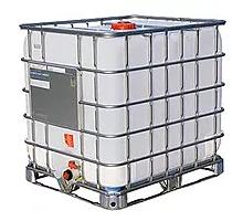 Еврокуб 1000  литров Б/У ПРОМЫТЫЙ, 1 категории., мет. или пласт. поддон