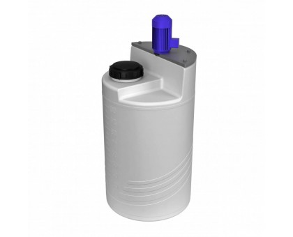 Емкость дозировочная 100 белая с турбинной мешалкой