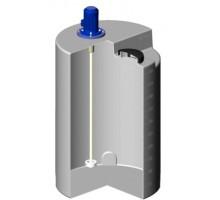 Емкость дозировочная 500 белый с турбинной мешалкой