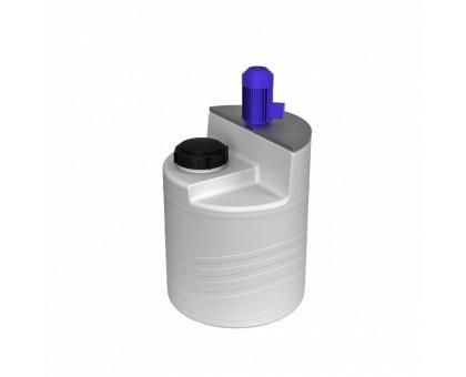 Емкость дозировочная 60 белая с турбинной мешалкой