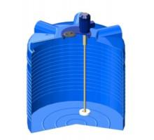 Емкость ЭВЛ 1000 синяя с турбинной мешалкой