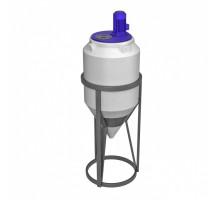 Емкость ФМ 120 с пищевой лопастной мешалкой