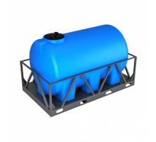 Емкость H 3000 синяя в обрешетке