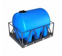 Емкость H 5000 синяя в обрешетке