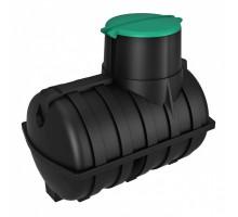 Емкость подземная U 3000 oil черная