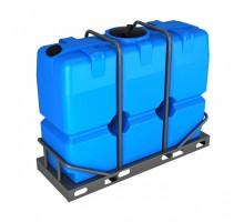 Емкость SK 2000 синяя в обрешетке