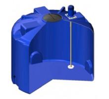 Емкость TR 4500 синяя с турбинной мешалкой