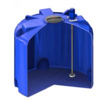 Емкость TR 5000 синяя с турбинной мешалкой