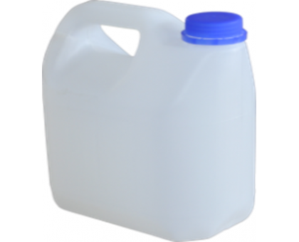 Канистра 5 литров с крышкой Б/У